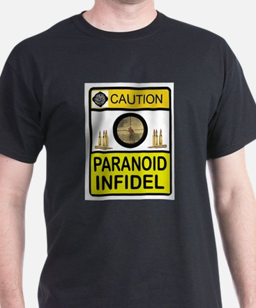 INFIDEL CAUTION T-Shirt