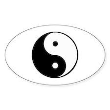 yin yang 4 3000 Decal