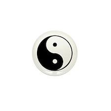yin yang 4 3000 Mini Button (10 pack)