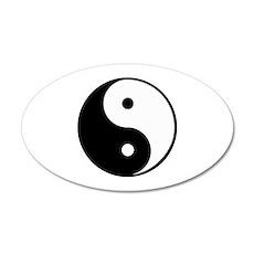 yin yang 4 3000 Wall Decal