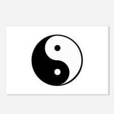 yin yang 4 3000 Postcards (Package of 8)