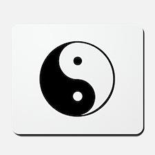 yin yang 4 3000 Mousepad