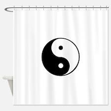 yin yang 4 3000 Shower Curtain