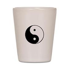 yin yang 4 3000 Shot Glass