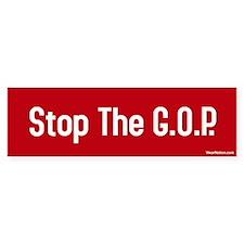 Stop the G.O.P. Bumper Bumper Sticker
