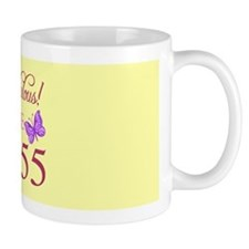 Fabulous Since 1955 Mugs