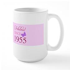 Fabulous Since 1955 Mugs
