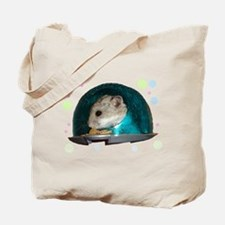 Spaceship Abby Tote Bag