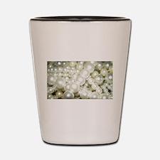 pearls Shot Glass