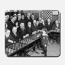 Samuel Reshevsky vs. The World Mousepad
