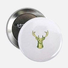 "BUCK DEER HEAD 2.25"" Button (10 pack)"