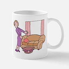 Furniture Saleswoman Mugs