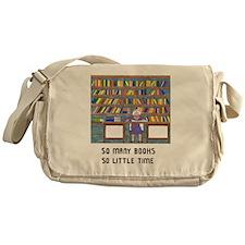 Unique Libraries Messenger Bag