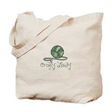 CRAFTY LADY Tote Bag