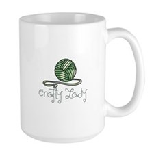 CRAFTY LADY Mugs