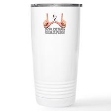 Funny Paper Travel Mug