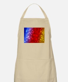 rainbow hearts Apron