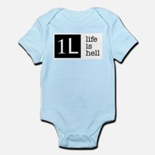 1L, life is hell Body Suit