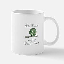 IDLE HANDS Mugs