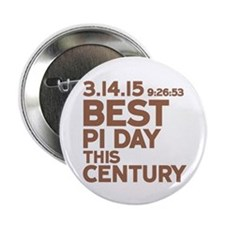 "Best Pi Day 2.25"" Button (10 pack)"