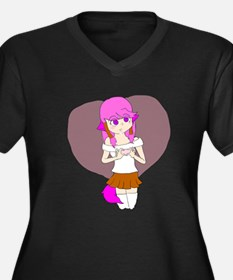 Sakura Heart Plus Size T-Shirt