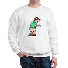 Old Journalist Sweatshirt