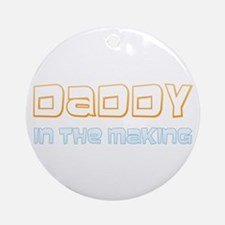Expectant Daddy Ornament (Round)