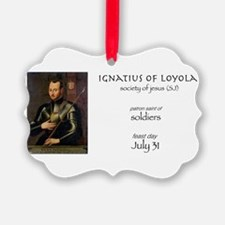 st. ignatius of loyola, patron sa Ornament