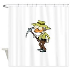 Prospector Shower Curtain