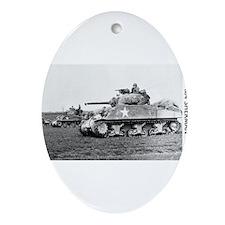 M4 SHERMAN Ornament (Oval)