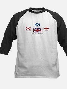 creation of UK flag Baseball Jersey