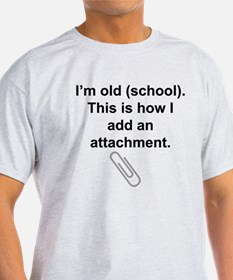 Old School Attachment T-Shirt
