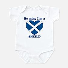 Sheild, Valentine's Day Infant Bodysuit