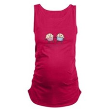 Grandmother Of Twins Maternity Tank Top