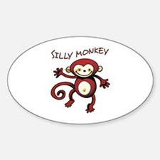 Silly Monkey Decal
