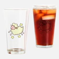 LAMB AND STARS Drinking Glass