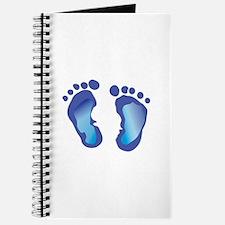 NEWBORN BABY FOOTPRINT Journal