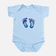 NEWBORN BABY FOOTPRINT Body Suit
