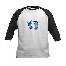 NEWBORN BABY FOOTPRINT Baseball Jersey