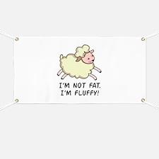 IM NOT FAT Banner