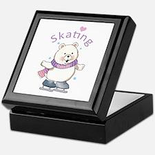 Skating Keepsake Box