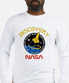 STS 120 Discovery NASA Long Sleeve T-Shirt