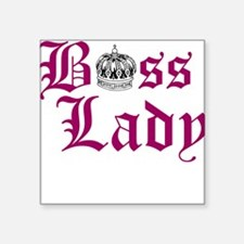BOSS LADY, CROWN Sticker