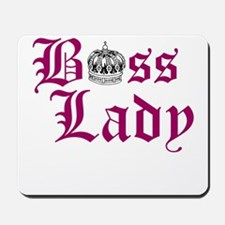 BOSS LADY, CROWN Mousepad