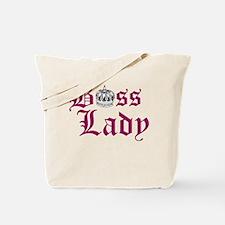 BOSS LADY, CROWN Tote Bag