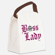 BOSS LADY, CROWN Canvas Lunch Bag