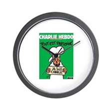 Je Suis Charlie Wall Clock