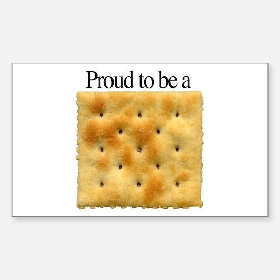 Cracker Pride Rectangle Stickers