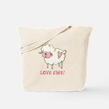 LOVE EWE Tote Bag