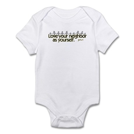Love Your Neighbor Infant Bodysuit